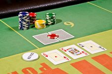Free Poker Cards Stock Photos - 29164553