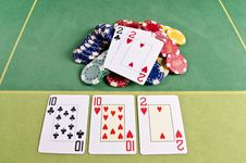 Free Poker Cards Stock Photos - 29164653
