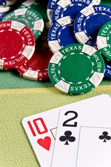 Free Poker Cards Stock Photos - 29164663