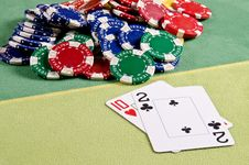 Free Poker Cards Royalty Free Stock Images - 29164729