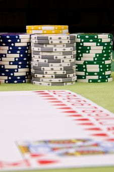 Free Poker Cards Stock Photos - 29165043