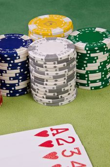 Free Poker Cards Stock Image - 29165141
