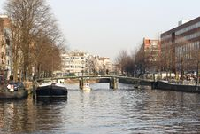 Free On The Streets Of Amsterdam Royalty Free Stock Photos - 29165728