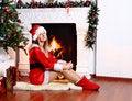 Free Christmas Girl Stock Image - 29177701