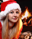 Free Christmas Girl Stock Photography - 29177782