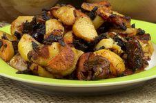 Free Roasted Potato Royalty Free Stock Photos - 29175808