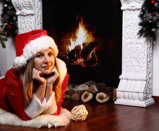Free Christmas Girl Royalty Free Stock Photography - 29177737