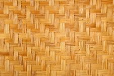 Bamboo Weaving Royalty Free Stock Photo