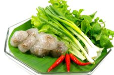 Free Kanom Sago, Thai Snack Stock Photos - 29179343