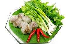 Free Kanom Sago, Thai Snack Stock Photos - 29179373