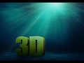 Free Underwater 3d Text Royalty Free Stock Photography - 29181187