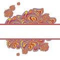 Free Lilac-orange Design With Stripe Stock Images - 29184384