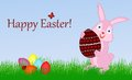 Free Happy Easter Bunny Stock Images - 29186224