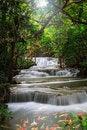 Free Thailand Waterfall In Kanjanaburi Royalty Free Stock Image - 29189926
