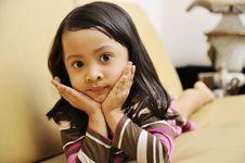 Free Sad Little Girl Stock Photo - 29182740