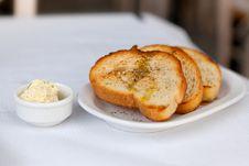Free Toasted Garlic Bread Royalty Free Stock Photos - 29183048