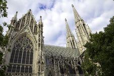 Free Votivkirche Stock Image - 29184951