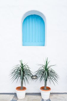 Free Blue Window Stock Image - 29189031