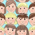 Free Background With Smiling Faces Stock Images - 29194194