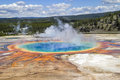 Free Grand Prismatic Spring Royalty Free Stock Photos - 29195978