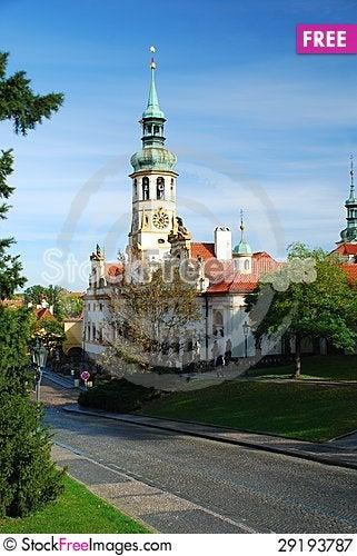 Free Loretta Church In Prague Royalty Free Stock Photography - 29193787