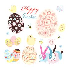 Free Easter Card With Stock Photos - 29190643