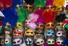 Free Exposition Of Masks Of Venice Royalty Free Stock Images - 29192389