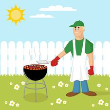 Free Barbecue Cooking Stock Photos - 29192903