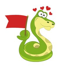 Free Snake Love Royalty Free Stock Image - 29193576