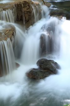 Free Close Up Waterfall Stock Photography - 29196882