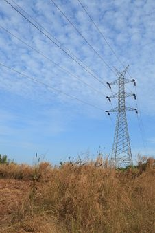 Free High Voltage Power Tower Line Royalty Free Stock Images - 29197229