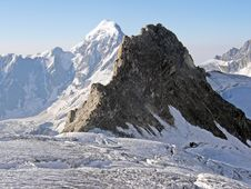 Free View Of The Mountains In The Caucasus Royalty Free Stock Photo - 29198235