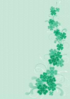 Free Clover Background Stock Photo - 29199980