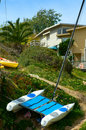Free Beached Catamaran Stock Photo - 2926130