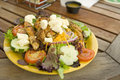 Free Salad With Grilled Chicken Royalty Free Stock Images - 2928579
