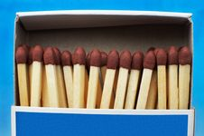 Free Box With Matches Stock Photos - 2921383