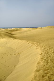 Free Sand Dunes Stock Image - 2921521
