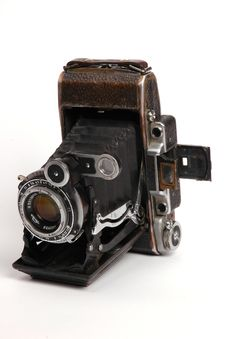 Free Old Roll-film Camera Stock Photo - 2922640