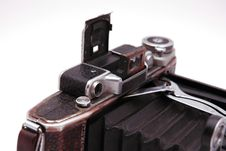 Free Old Roll-film Camera Royalty Free Stock Photo - 2922685