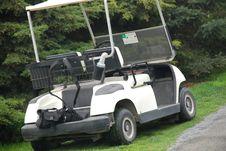Golf Car Royalty Free Stock Photo