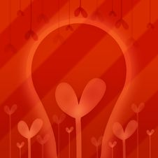 Free Abstraction With Heart In Red Stock Photos - 2926613