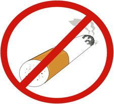 Free No Smoking Sign Stock Photography - 2928052