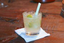 Cool Lemon Drink Stock Photography