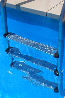 Free Pool Ladder Royalty Free Stock Image - 2928946