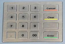 Free Numeric Keypad Royalty Free Stock Image - 2928966