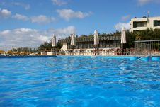 Pool Water And Bar Royalty Free Stock Images