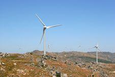 Free Wind Power Generators Farm Aga Stock Photos - 2929233