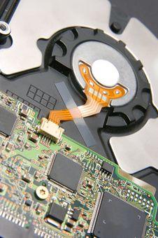Free Electronics On Back Side Of Ha Stock Images - 2929644