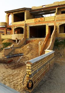 Free Villa Under Construction Royalty Free Stock Photos - 2929948