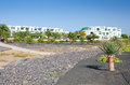 Free Lanzarote Apartments Scenery Royalty Free Stock Photography - 29202417